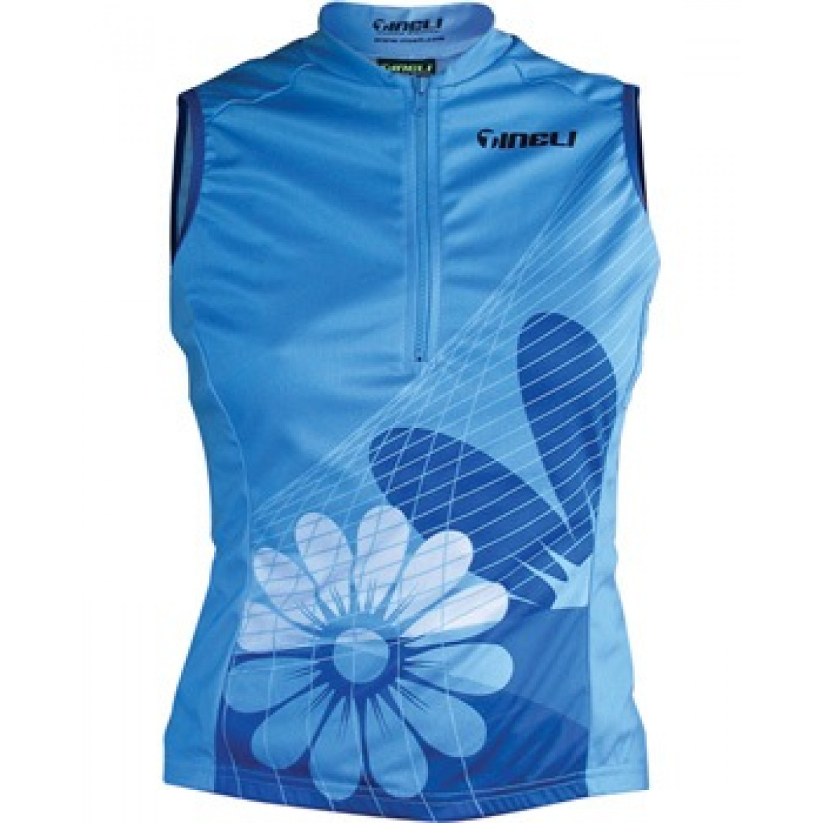 custom sleeveless cycling jersey floral 280 x 350px Sleeveless Jersey