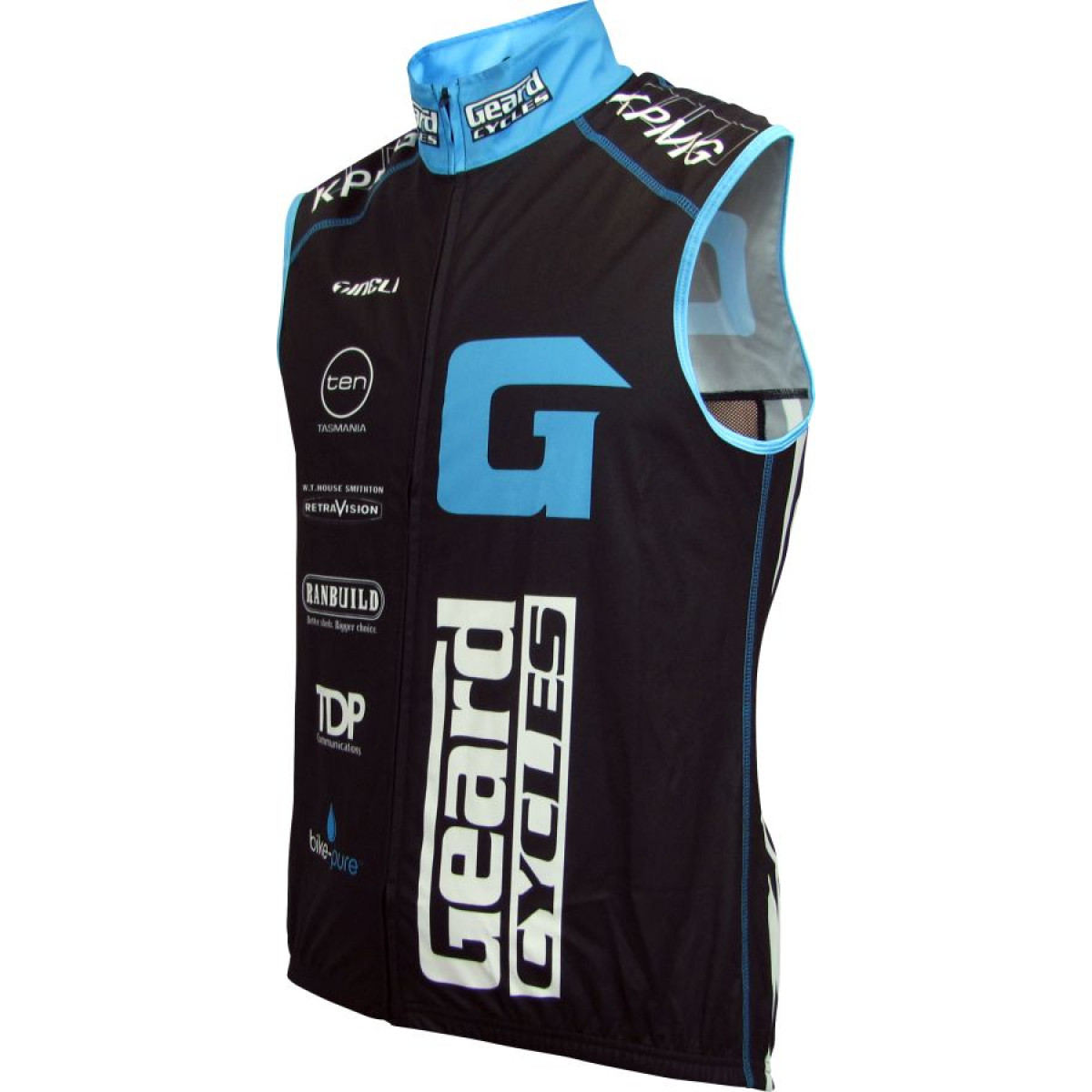 geard vest Sports Vest (Solid Back)