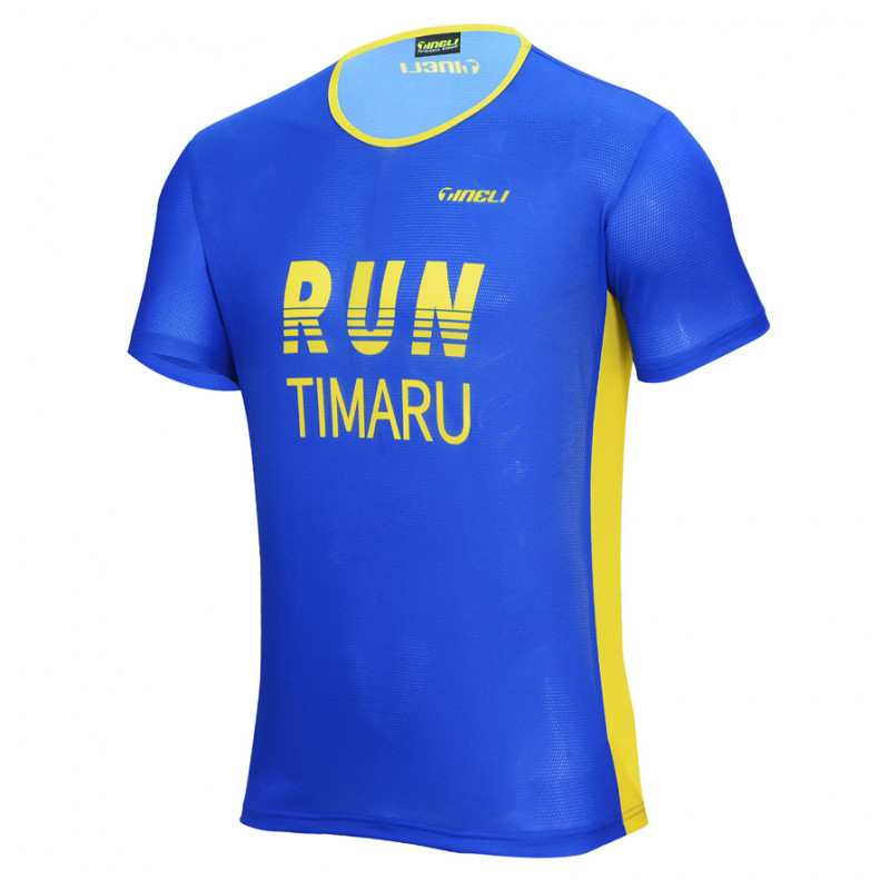 Run Timaru RUM0002 Front WEB Running T-Shirt