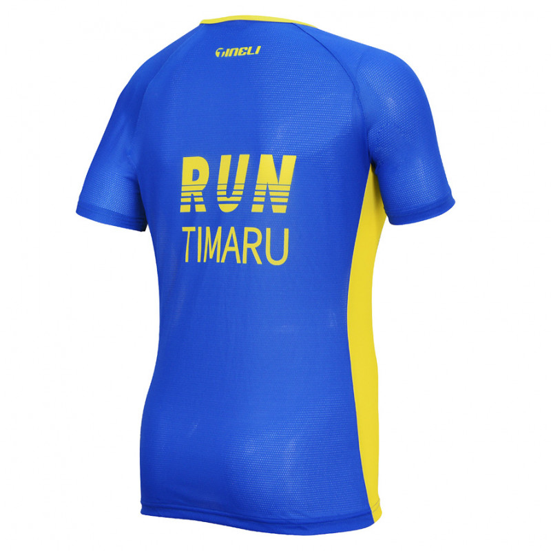 Run Timaru RUW1006 Rear WEB Running T-Shirt