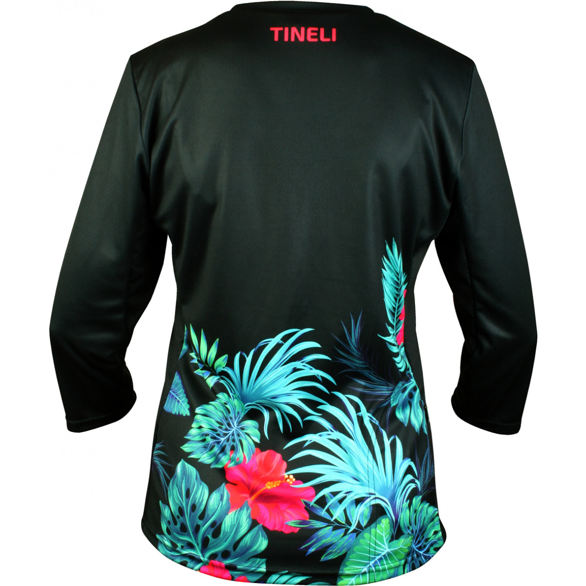 259 tropical 3 4 trail jersey back cutout Women's Tropical Trail Jersey