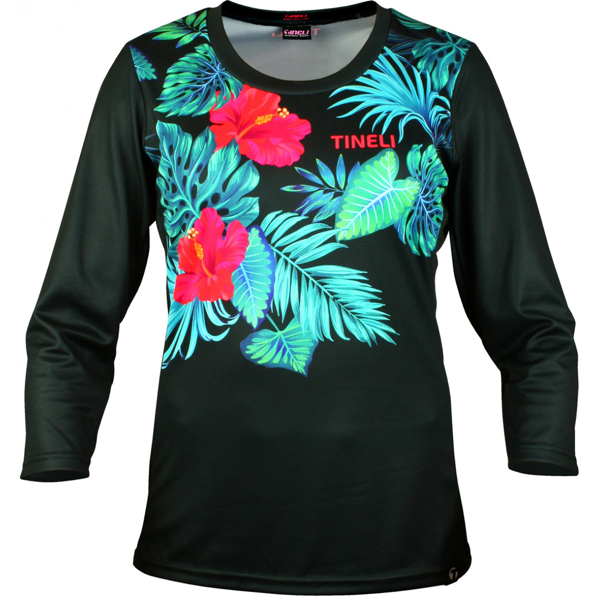 259 tropical 3 4 trail jersey cutout Women's Tropical Trail Jersey
