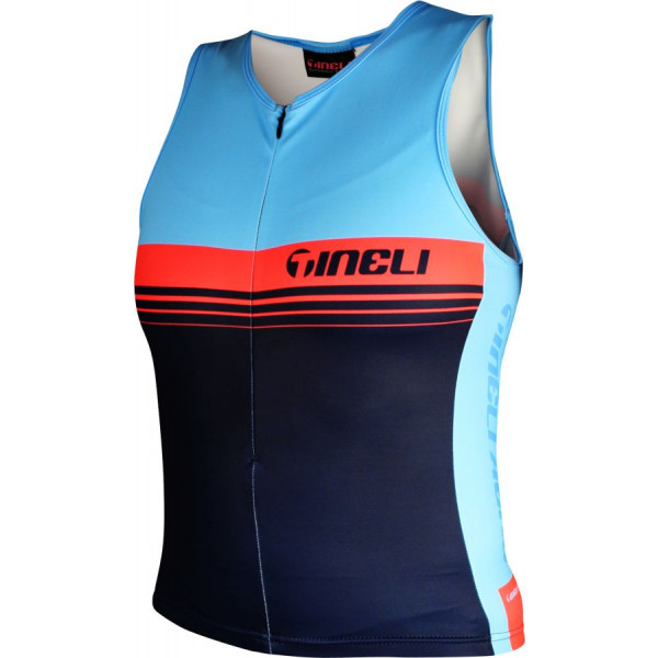 Blue Tri Top Women's