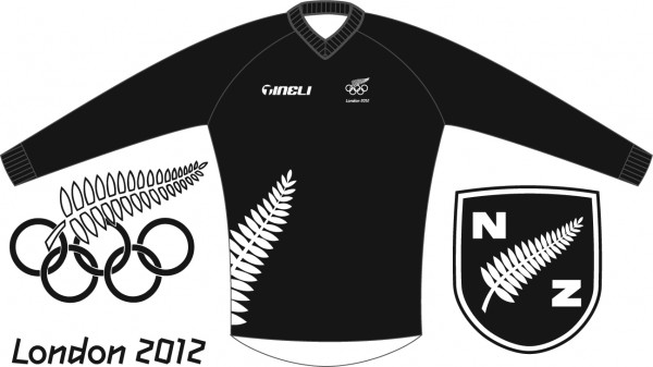 NZ Olympic BMX Team Jersey by Tineli
